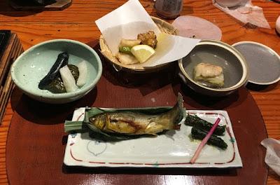 宝川温泉 夕食