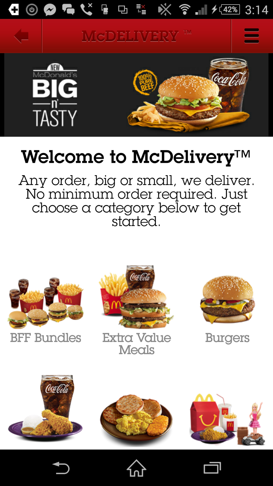 McDonalds Application, McDo App