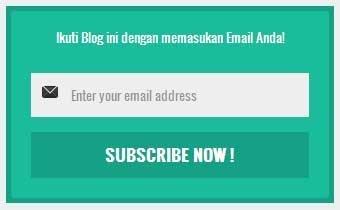 Cara Memasang Subscribe di Blog