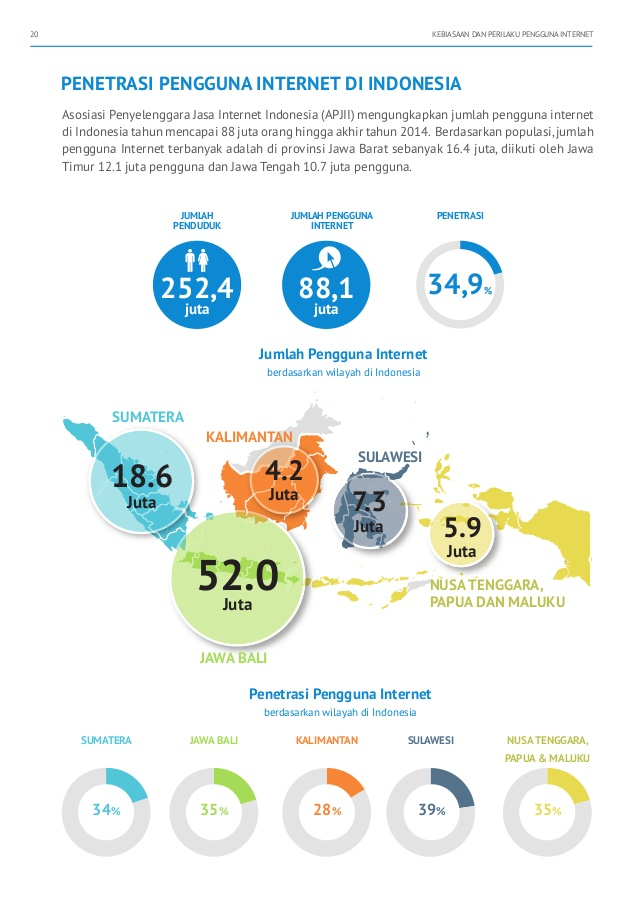 Profil Pengguna Internet di Nusa Tenggara Timur
