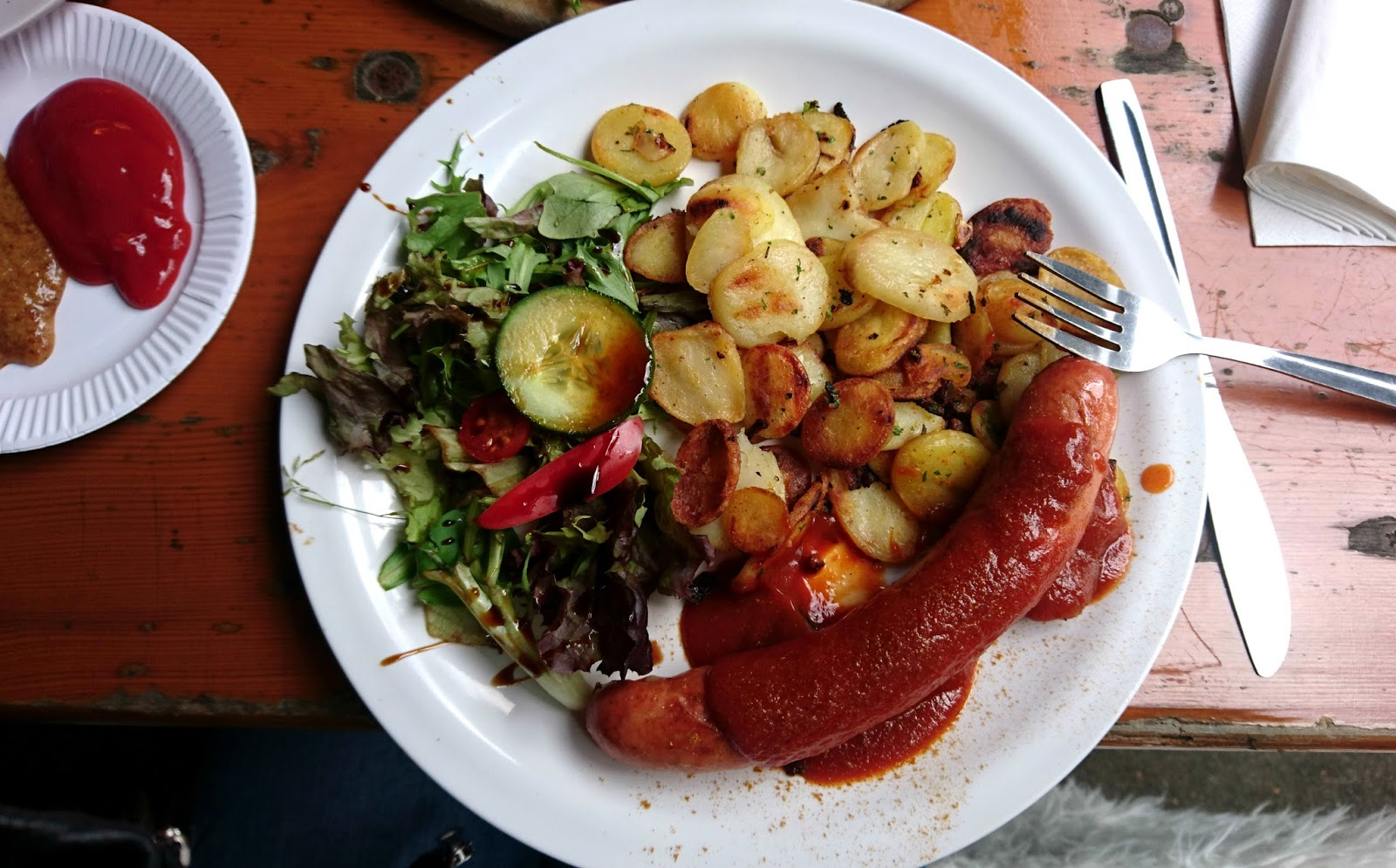 Currywurst Meal