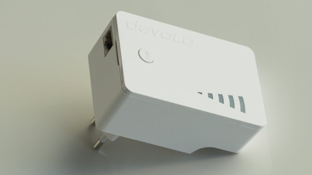 The Devolo repeater also has a LAN socket for devices without WLAN. / © CoolAndroidTips