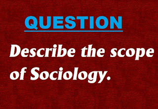 scope for sociology