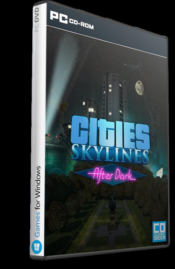 DESCARGAR Cities Skylines – After Dark Multilenguaje (Español) (PC-GAME) MEGA