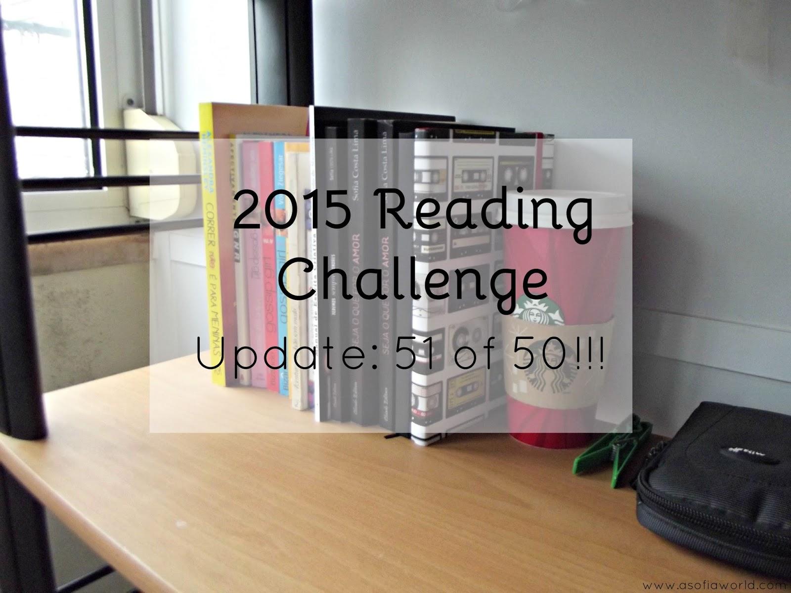 2015 Reading Challenge Update