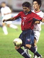 China y Chile en partido amistoso, 20 de agosto de 2003