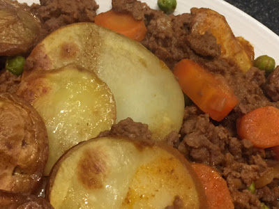 The Improving Cook- Beef Mince Hot Pot