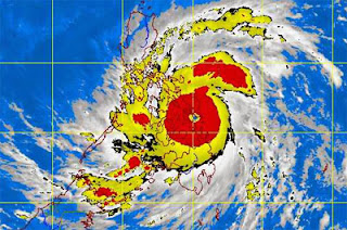 Bagyong Yolanda Update - Super Typhoon makes landfall in Samar