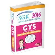 Data GYS SGK Sosyal Güvenlik Kurumu Konu Anlatımlı Soru Bankası (2016)