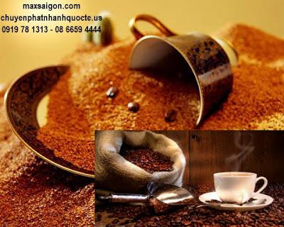 Nhận gửi cafe dạng  hạt, bột từ Việt nam đi Mỹ, úc, canada
