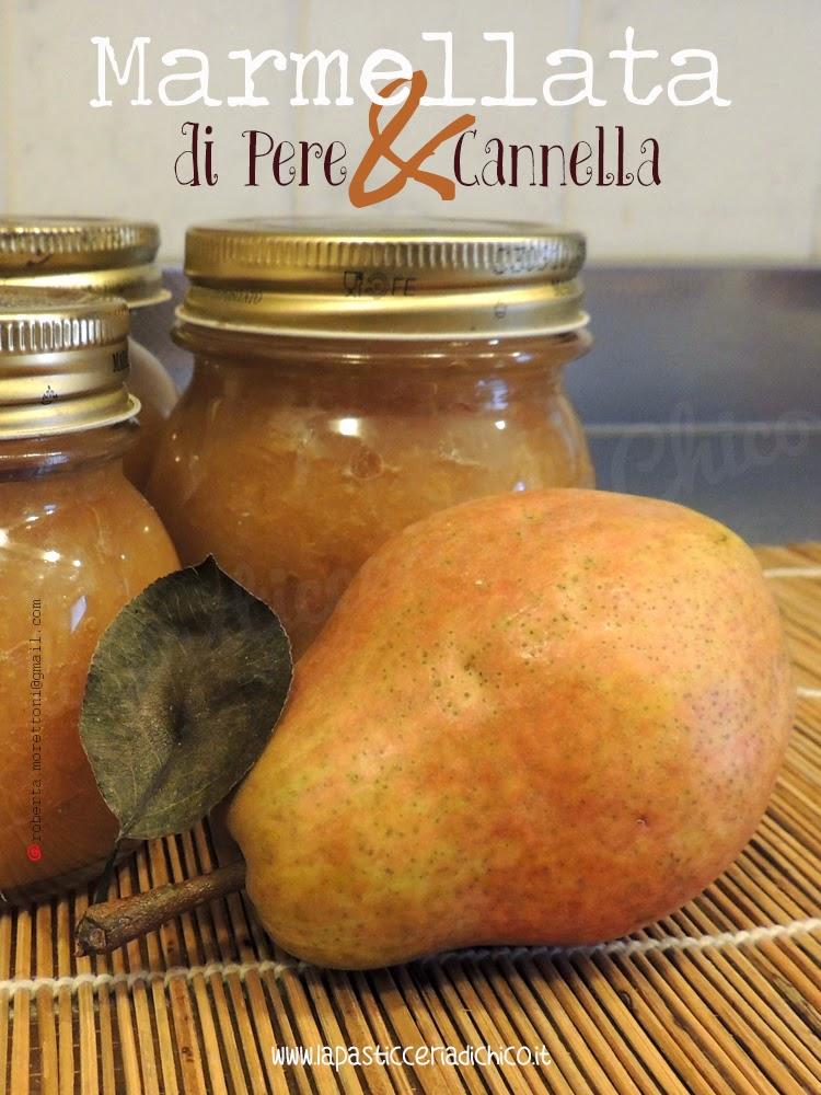 Marmellata di pere e cannella - www.lapasticceriadichico.it