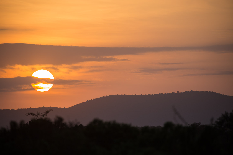 Atardecer en el Masai Mara