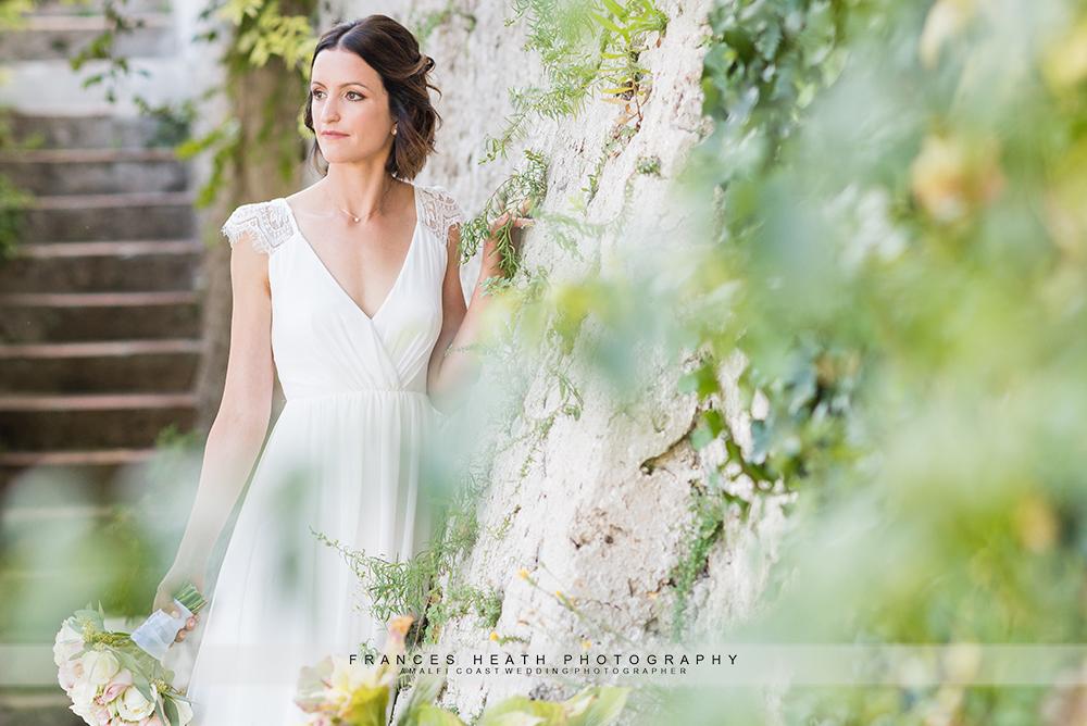 Bride at Hotel Convento Amalfi