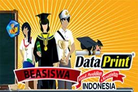 Beasiswa DataPrint Periode 2 Tahun 2013