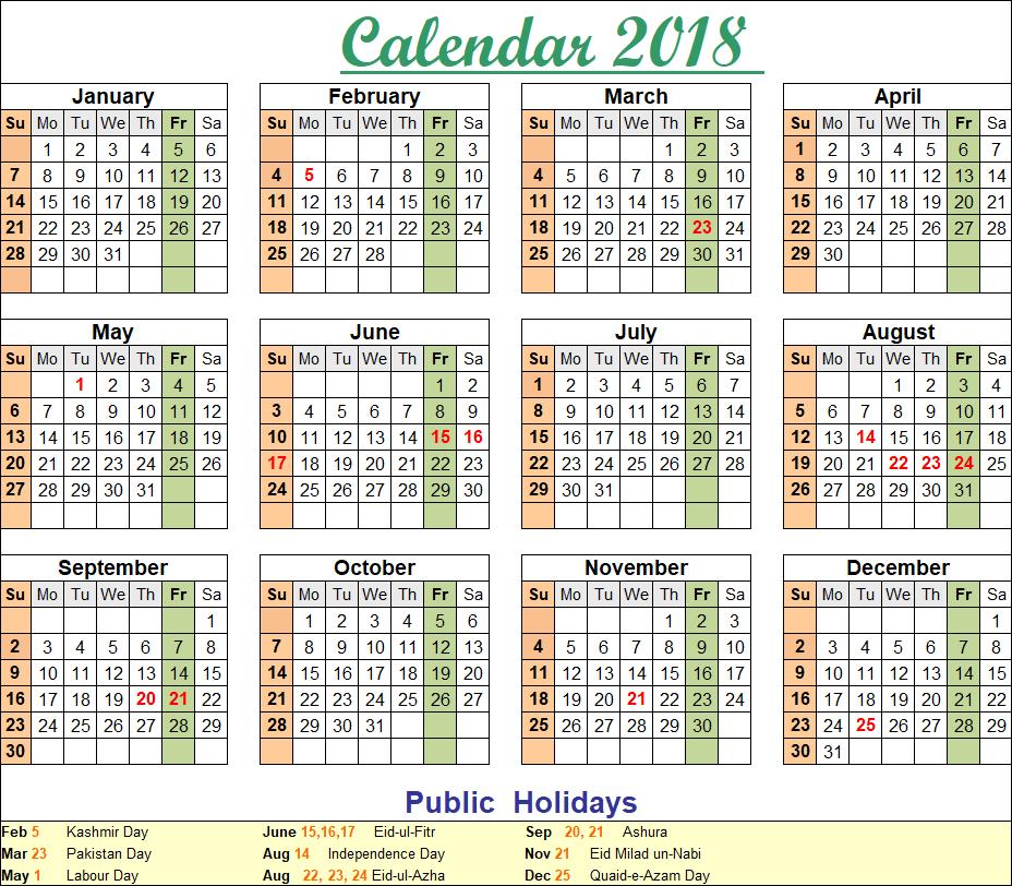 Great Chand Raat Eid Al-Fitr 2018 - Calendar-2018_Landscape_01  2018_607450 .png