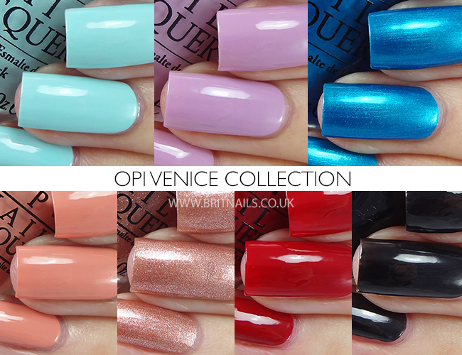 OPI Venice Collection
