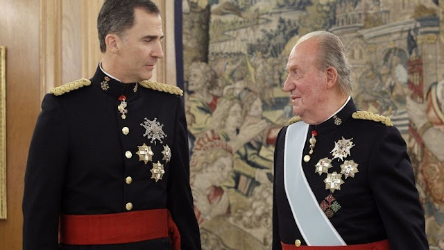 Para cuándo la información sobre Juan Carlos de Borbón?