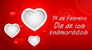 Día de San Valentín o día de los enamorados