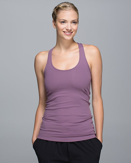 lululemon purple fog cool racerback