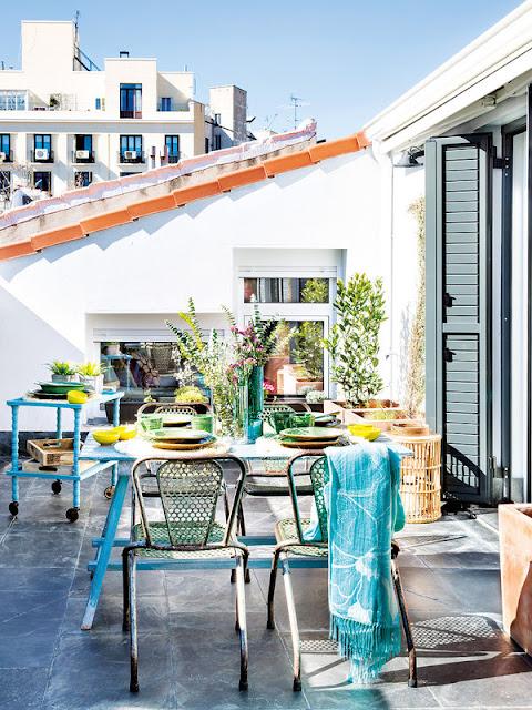 Лучшие дизайн-проекты. Уникальное преобразование пентхауса в центре Мадрида