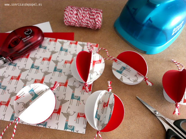 diy adornos navideños papel