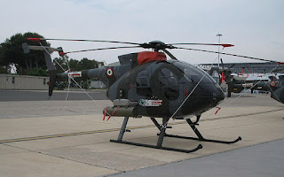 MD 500 MG Defender helicopter