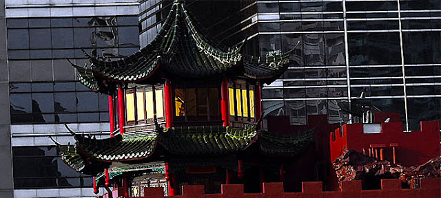 Thai Chinese Architecture in Bangkok