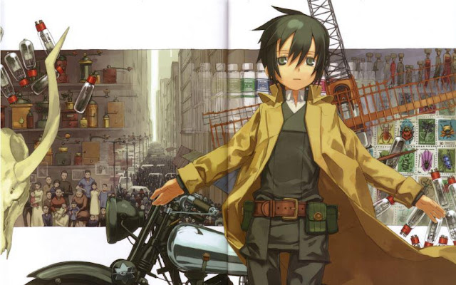 Kino's Journey: The Beautiful World - The Land of Sickness: For You - Top Anime Created by Studio Shaft