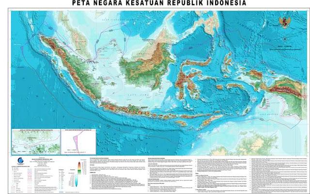 Gambar Peta Indonesia Lengkap