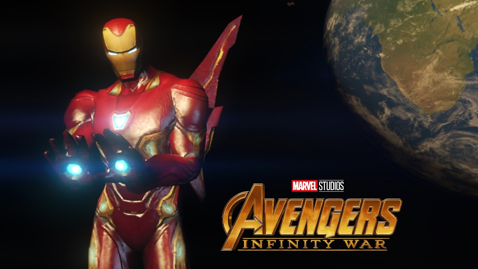 Gamesmods17 Iron Man Mark 50 Mff Version Avengers Infinity War