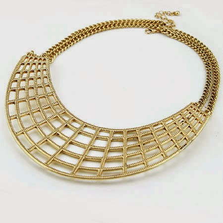 Alloy Hollow Fashiable & Luxurious Necklace