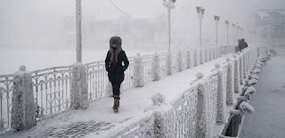 Αυτό είναι το πιο κρύο χωριό στον κόσμο! Η θερμοκρασία φθάνει τους -71! (photos)