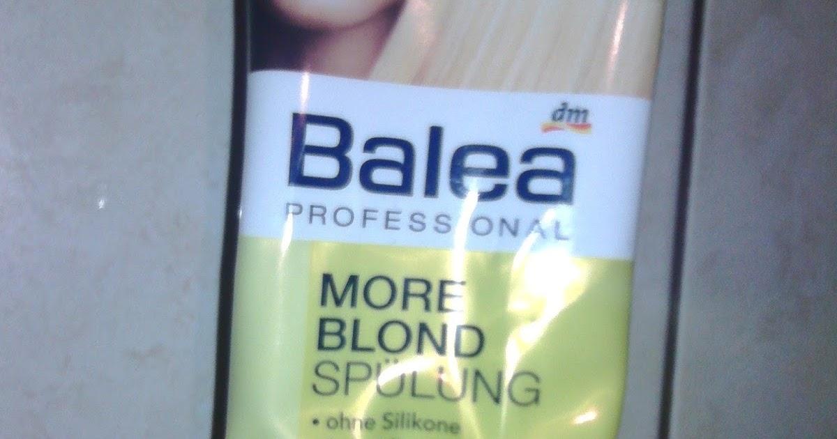 From Beauty With Love Reviewbalsam Pentru Par Blond Balea More Blond