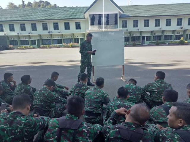 Prajurit Korem Binaiya Laksanakan Latihan PDM