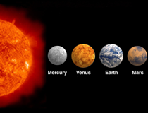 Group V The Rocky Inner Planets - Space