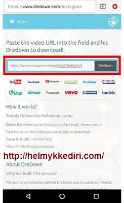 Cara download video di instagram 3