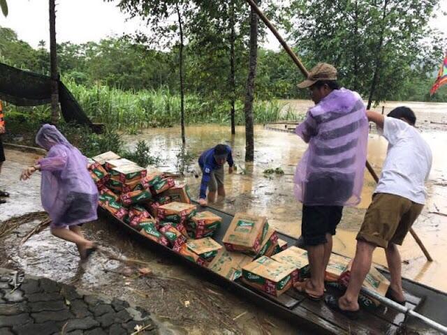 Toàn cảnh lũ lụt tại Ninh Bình và hoạt động cứu trợ tại Thanh Hoá - Ảnh minh hoạ 27