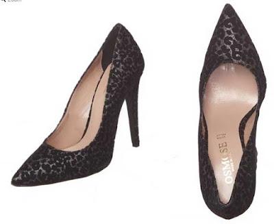 zapatos de tacon negros en oferta