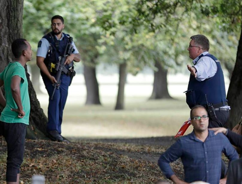 New Zealand Terror Attack Picture: Launch Worldwide Anti-Terror Movement Against China