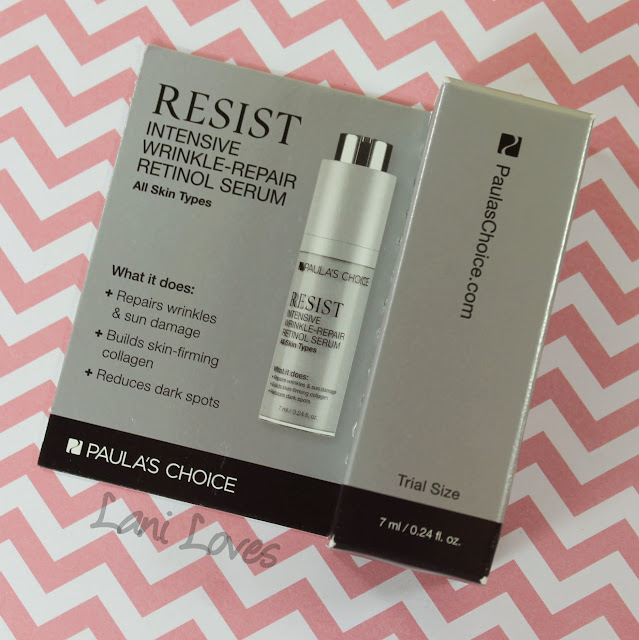 July 2015 Lust Have It Box - Pauls's Choice Resist Intensive Wrinkle-Repair Retinol Serum