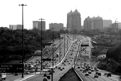 Widest Highway In The World Highway 401 Canada Photos