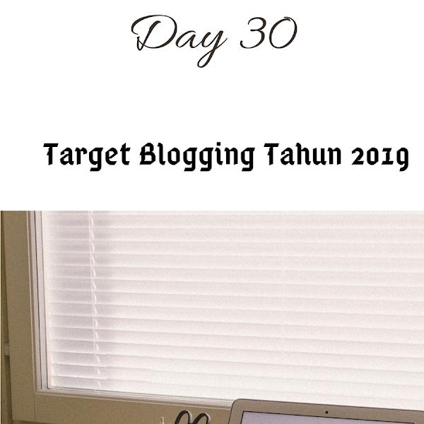 Target Blongging Tahun 2019