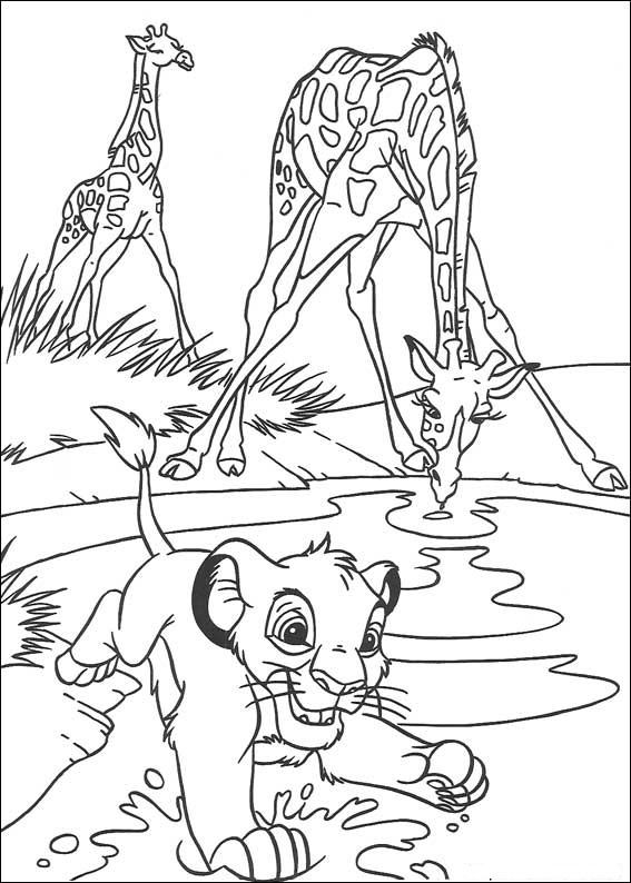 lion king coloring pages scarecrows - photo#45