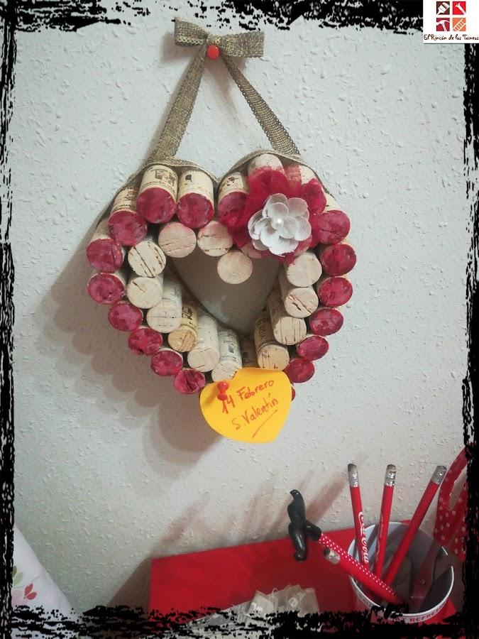 decorar con corchos