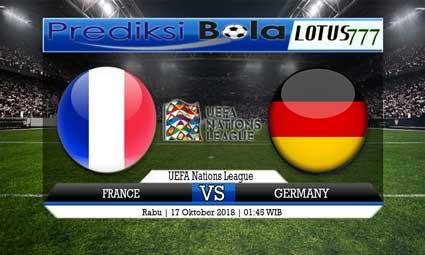 PREDIKSI FRANCE VS GERMANY 17 OKTOBER 2018