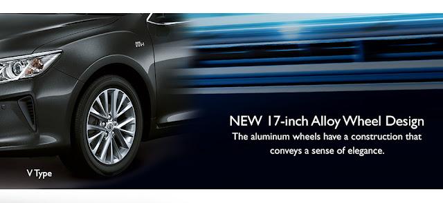 Desain Eksterior All New Toyota Camry