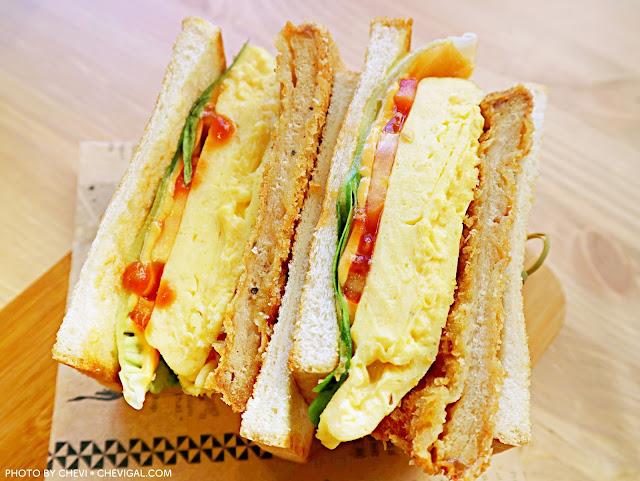 IMG 4318 - 熱血採訪│柒‧柒 手作早午餐。粉紅色販賣機風潮襲捲台中啦!來份豐盛的早午餐,讓你拍照也有粉嫩好氣色!