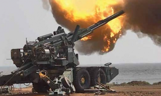 Dhanush Howitzers Artillery Guns Inducted into the Indian Army