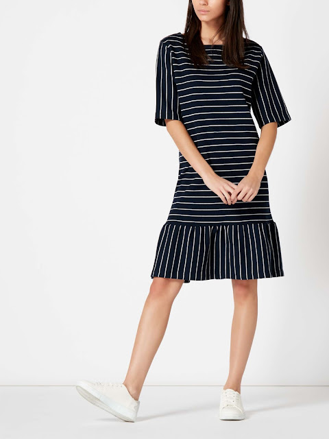 Maison De Nimes Jersey Stripe Dress
