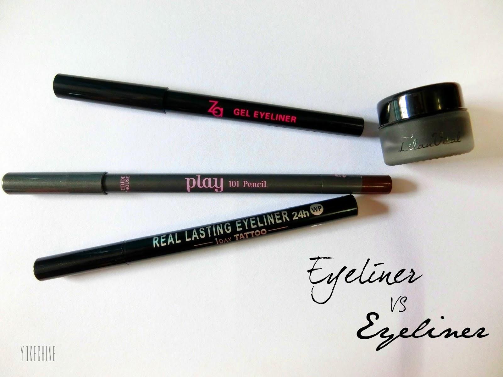 YokeChing Blogger | Youtuber | Traveller : Eyeliner V.S ...